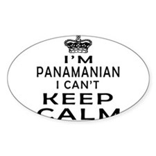 I Am Panamanian I Can Not Keep Calm Decal