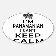 I Am Panamanian I Can Not Keep Calm Decal