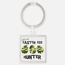 hunter1 Square Keychain