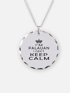 I Am Palauan I Can Not Keep Calm Necklace