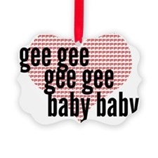 Gee Ornament
