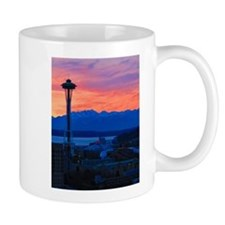 Sunset Over Seattle Mug