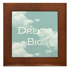 Dream Big Framed Tile
