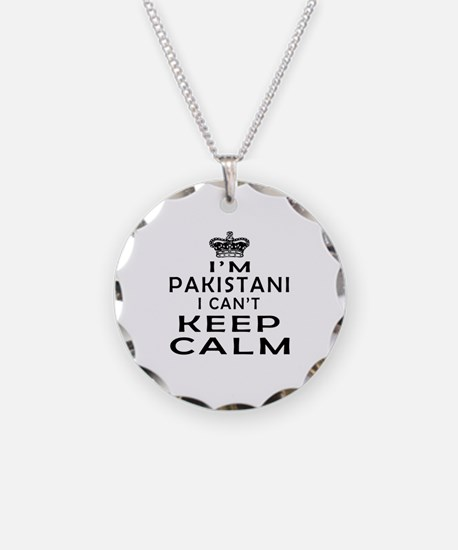 I Am Pakistani I Can Not Keep Calm Necklace