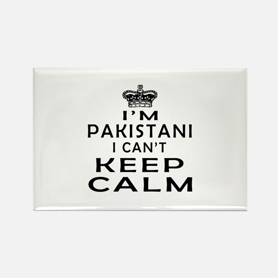 I Am Pakistani I Can Not Keep Calm Rectangle Magne
