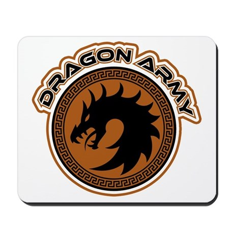 Dragon Army Logo Mousepad