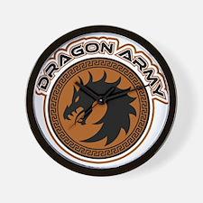 Dragon Army Logo Wall Clock