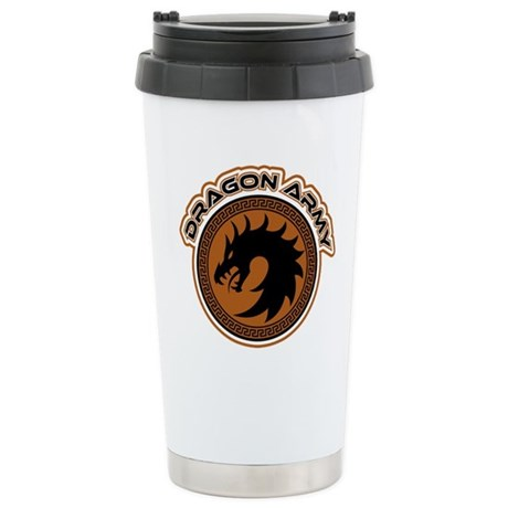 Dragon Army Logo Stainless Steel Travel Mug