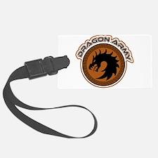 Dragon Army Logo Luggage Tag