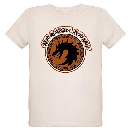 Dragon Army Logo Organic Kids T-Shirt