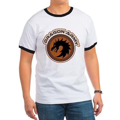 Dragon Army Logo Ringer T
