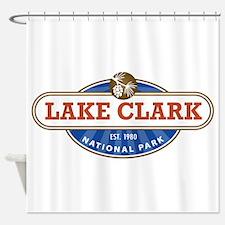 Lake Clark National Park Shower Curtain