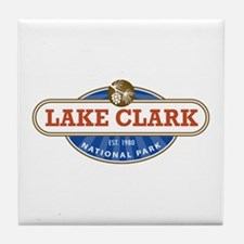 Lake Clark National Park Tile Coaster