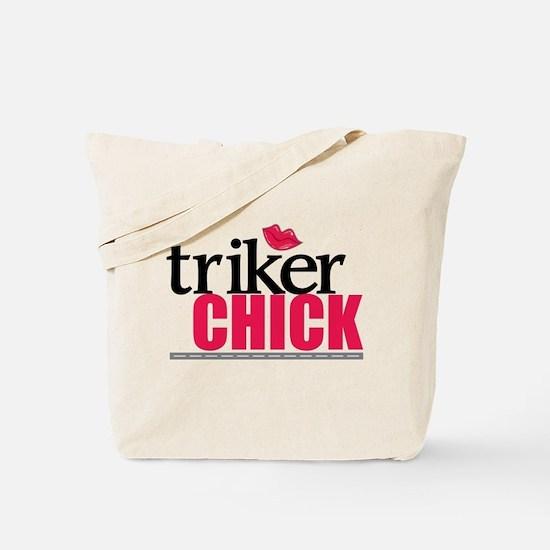 Triker Chick 1 Tote Bag