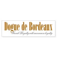 Dogue De Bordeaux Bumper Bumper Sticker