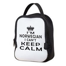 I Am Norwegian I Can Not Keep Calm Neoprene Lunch