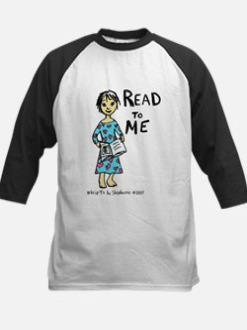 Read To Me 2 Kids Baseball Jersey