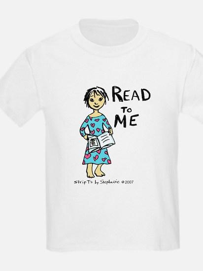 Read To Me 2 Kids T-Shirt