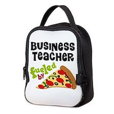 Business teacher Neoprene Lunch Bag