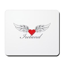 Angel Wings Ireland Mousepad