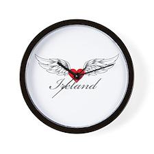 Angel Wings Ireland Wall Clock