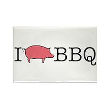 I Cook BBQ Rectangle Magnet