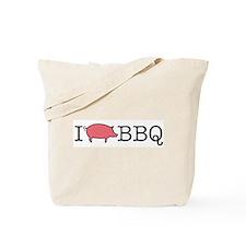 I Cook BBQ Tote Bag