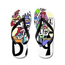 Clown front Flip Flops