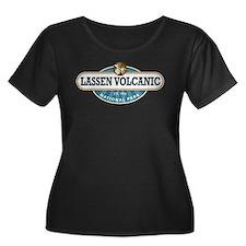 Lassen Volcanic National Park Plus Size T-Shirt