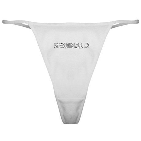 """Reginald"" Classic Thong"