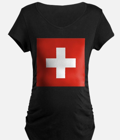 Switzerland Maternity T-Shirt