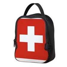 Switzerland Neoprene Lunch Bag