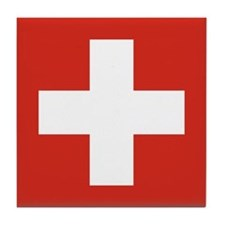 Switzerland Tile Coaster
