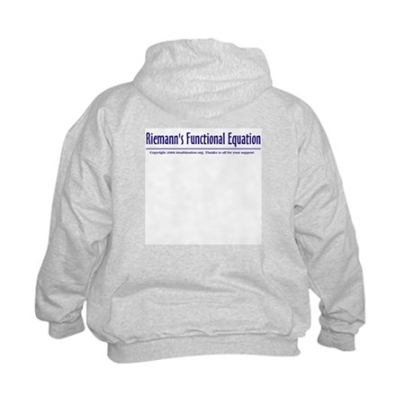 Riemann's Functional Equation Kids Sweatshirt