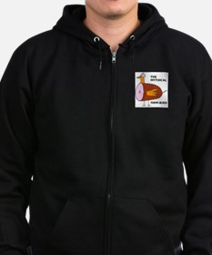 The Mythical Ham-Bird Zip Hoodie
