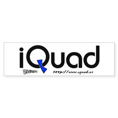 iQuad Team  Bumper Sticker