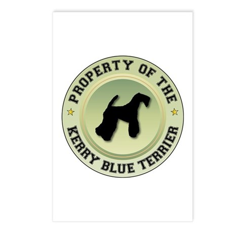 Terrier Property Postcards (Package of 8)