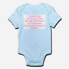 Valentine's Princess Infant Bodysuit