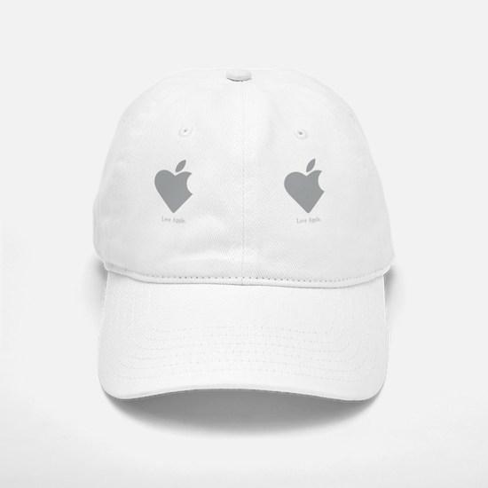 LoveAppleMug Baseball Baseball Cap