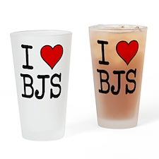 20100311-i-heart-bjs Drinking Glass