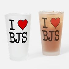 20100311-i-heart-bjs Drinking Glass