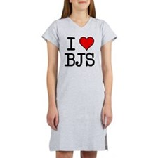 20100311-i-heart-bjs Women's Nightshirt