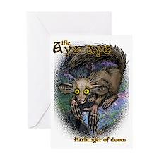 Aye-Aye Greeting Card