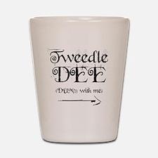 TweedleDEE.gif Shot Glass