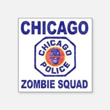 "chicago pd Square Sticker 3"" x 3"""