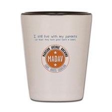 I-still-live-with-parent-+-logo.gif Shot Glass