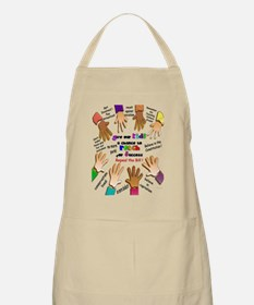 give our kids poster Apron