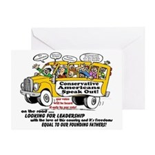 looking for leadership poster Greeting Card