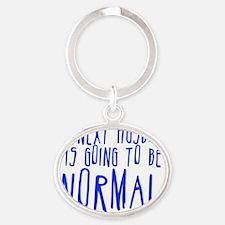 my next husband Oval Keychain