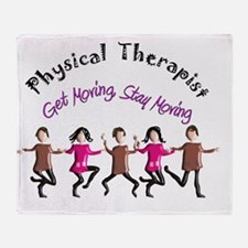 Physical Therapist Throw Blanket